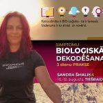 Biodekodēšanas praktiskās nodarbības – TIEŠRAIDE 3 dienas